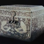 Square_gilt_silver_case_with_flower__bird_and_phoenix_design