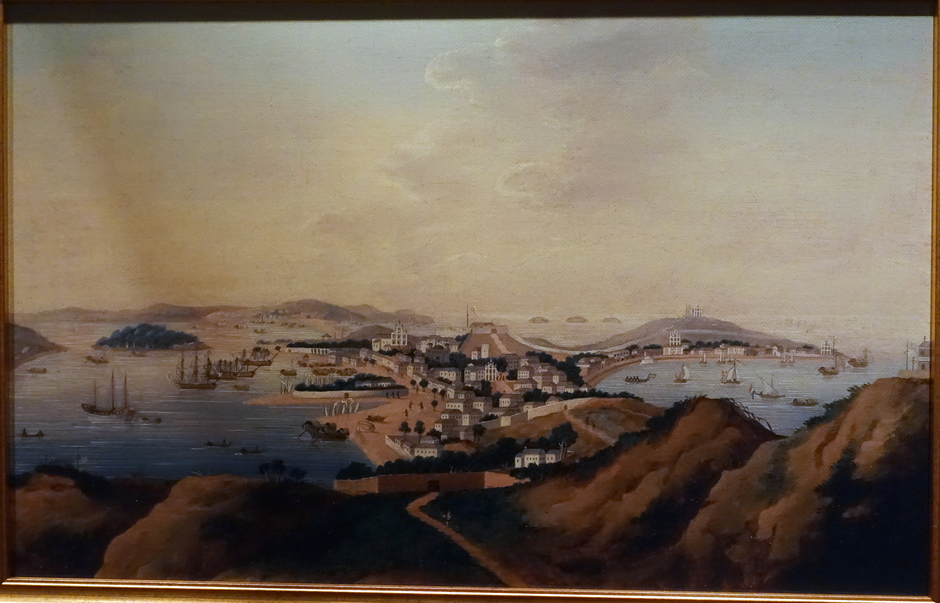 View of Macau as seen from Penha Hill, late 18th century