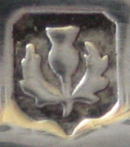 thistle sterling Silver Hallmark