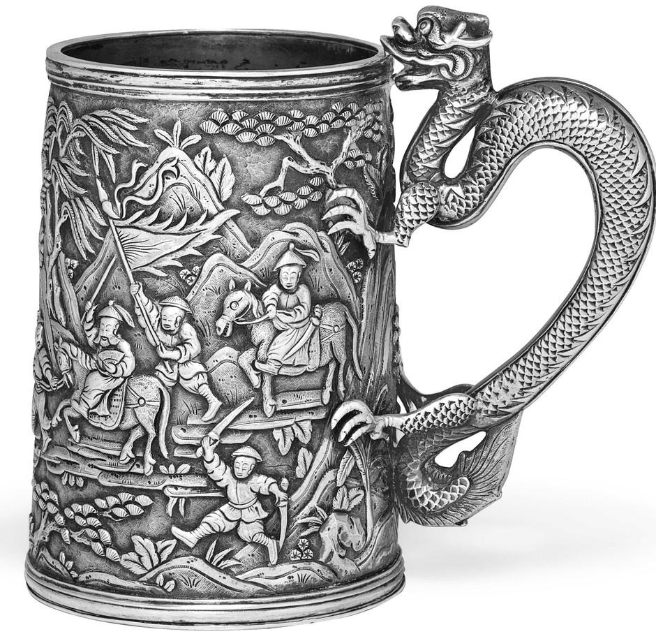 Wong Shing Mug (Chinese Export Silver)