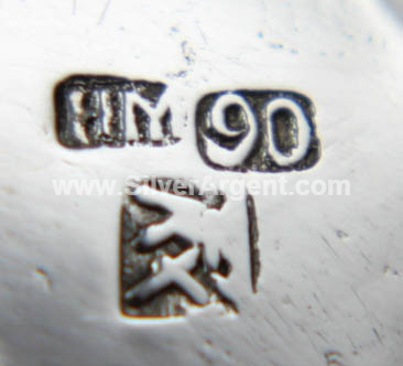 HM (Chinese Export Silver Mark)