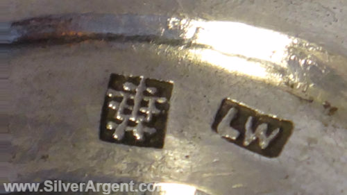 Luen Wo (Chinese Export Silver Mark)