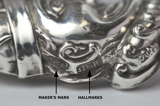 Recognising British Uk English Silver Hallmarks