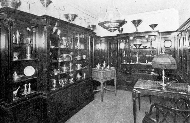 1918年 コペンハーゲンのジェンセンの店内の様子