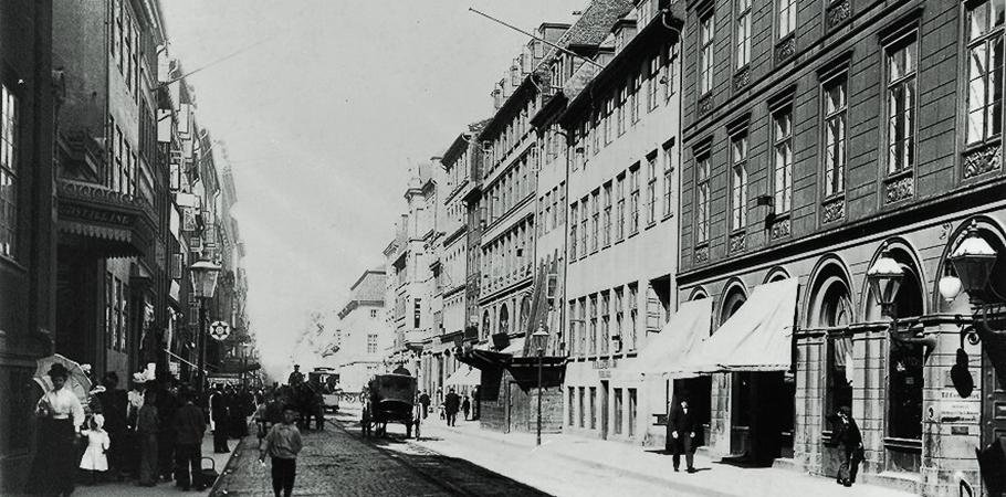 1904年 Copenhagenに開設したジェンセンの仕事場