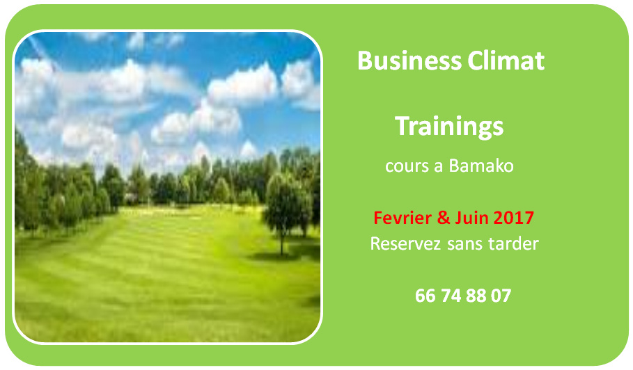 Business Climat Trainings