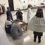 Messy Church - Dec 2017:  Bethlehem Market