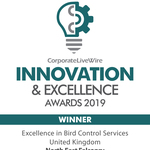 Innovation business award winner 2019