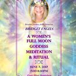 Women's June Full Moon & Goddess Meditation & Ritual event at EastWest Bookshop in Seattle 6/7/2017 from 7-8:30pm