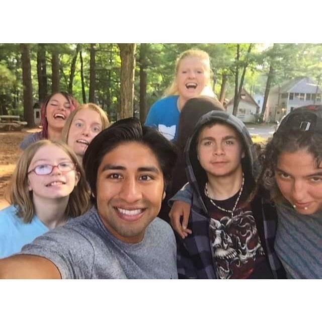Edwin, Haley, Rain, Kaitlin, Kez, Justin, Carly