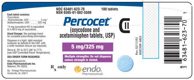 Percocet 5-325-mg Online
