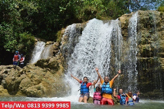 Body Rafting Sungai Oyo Jogja
