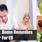 Home Remedies Treat for Erectile Dysfunction