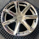 20 INCH CHROME CRUISER ALLOY WHEELS