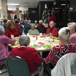 Bingo at Sayre Village, 12/2017