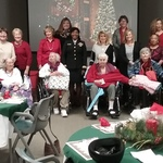 Luncheon for female veterans at Thompson-Hood Veterans Center