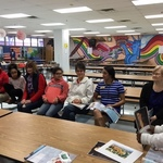 ESS Book Club presentation about artist Frida Kahlo 01/22/18