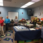 Teacher Appreciation event at Harrison Elementary May, 2018