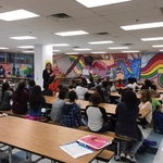 Passport to Reading project at Harrison Elementary