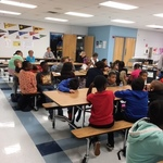 Passport to Reading project at Harrison Elementary weeks 3 & 4