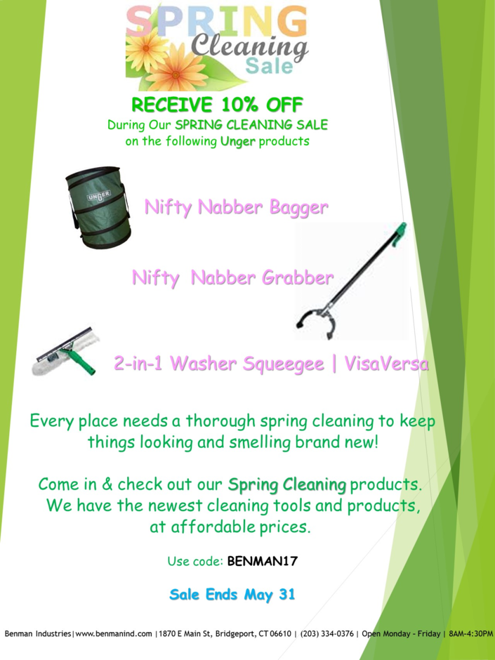 BENMAN SPING CLEANING SALE RECEIVE 10Percent OFF.png