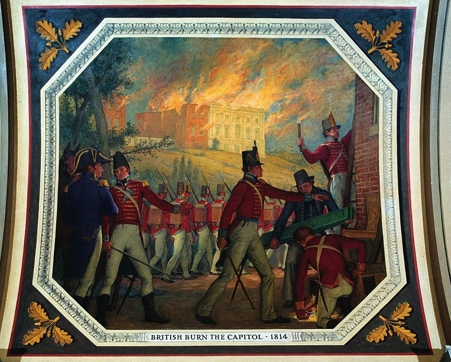 British Burning Washington