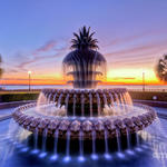 Sc2-pineapple-fountain-charleston-sc-sunrise-dustin-k-ryan