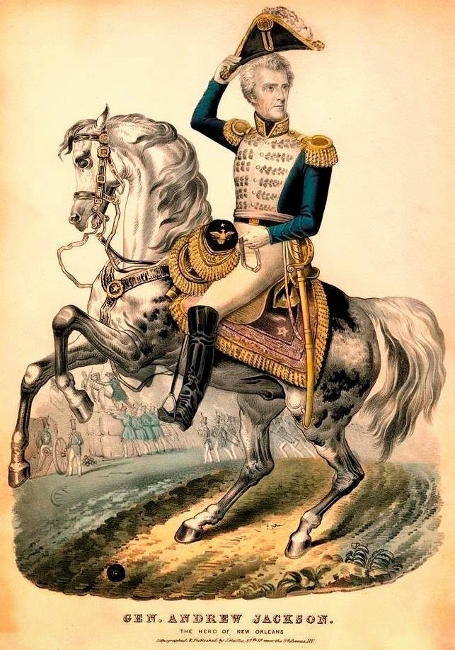 Andrew Jackson, Hero of the War of 1812
