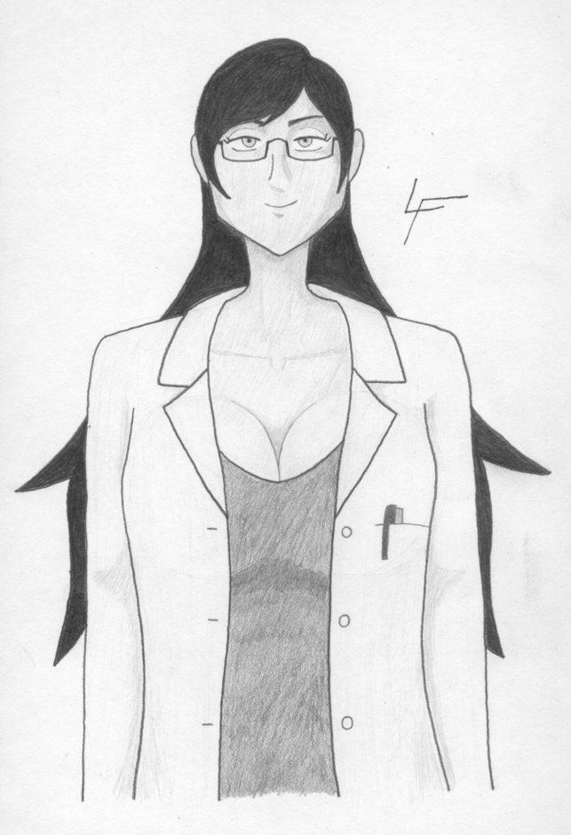Dr. Cruz (First Sketch)
