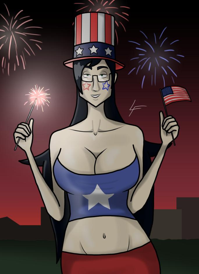 Patriotic Lila