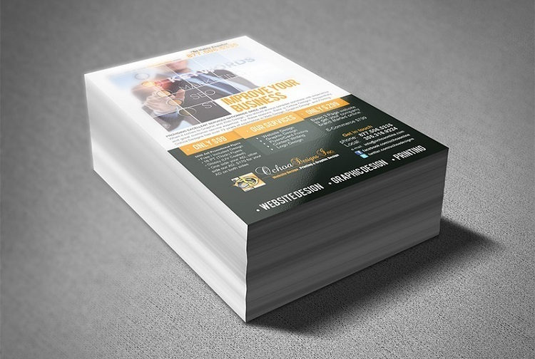 How To Make A Flyer In 8 Steps | Flyer Printing Dubai