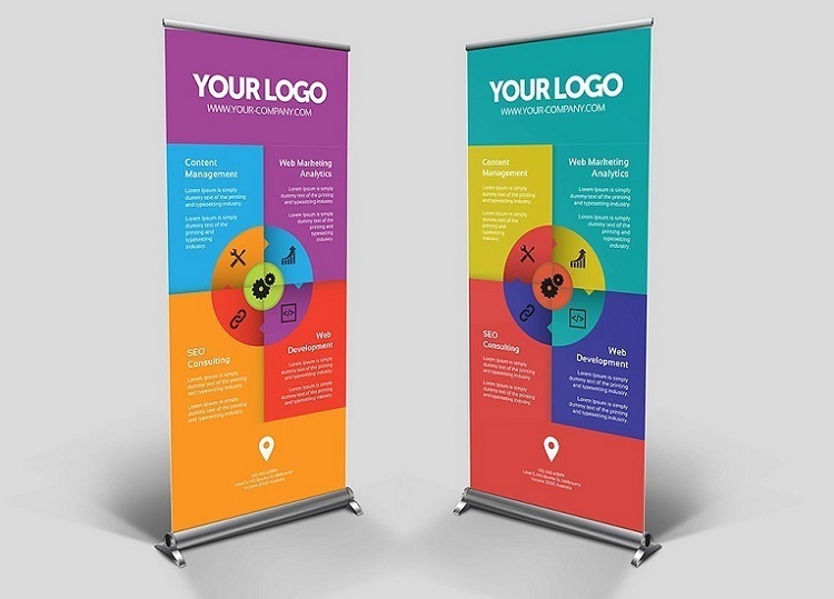 Best Printing Company For Roll-Up Banner Design