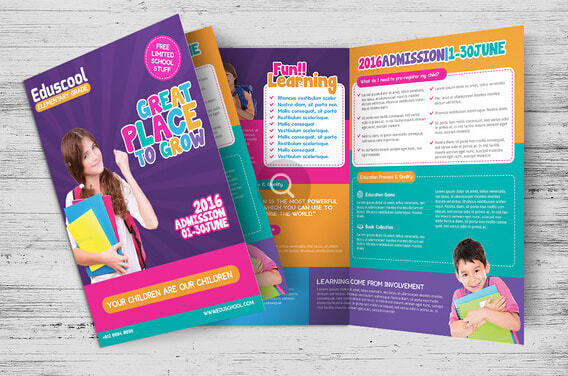 Tips to print a school brochure