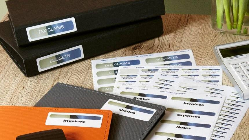 Tips For Printing Labels For File Folders