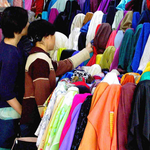 The  Biggest fabric wholesale markets in Guangzhou