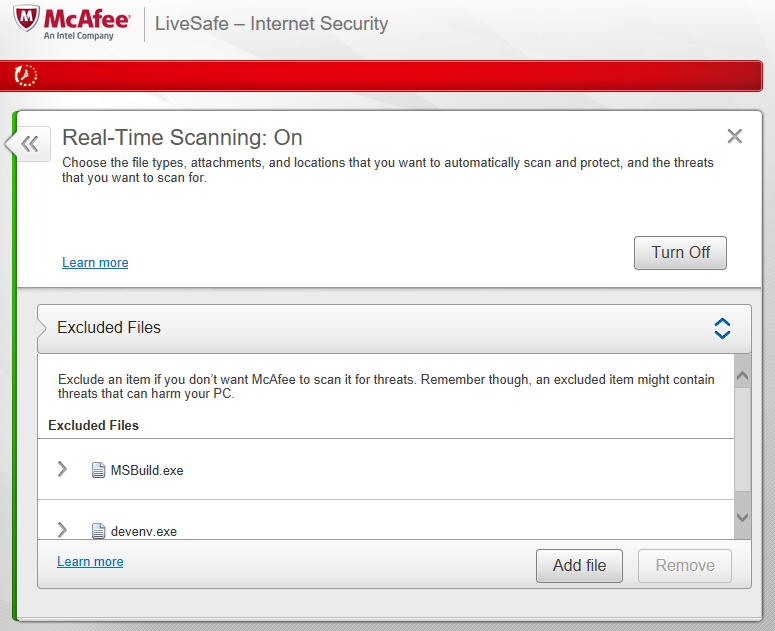 How To Exclude Paths In McAfee Antivirus 2017 - McAfee