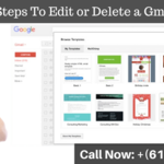 Steps To Edit or Delete a Gmail Email Template