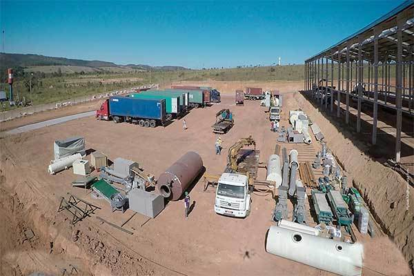 Plastic to Fuel Plant in South Africa