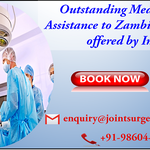 Outstanding Medical Visa Assistance to Zambia Nationals offered by India