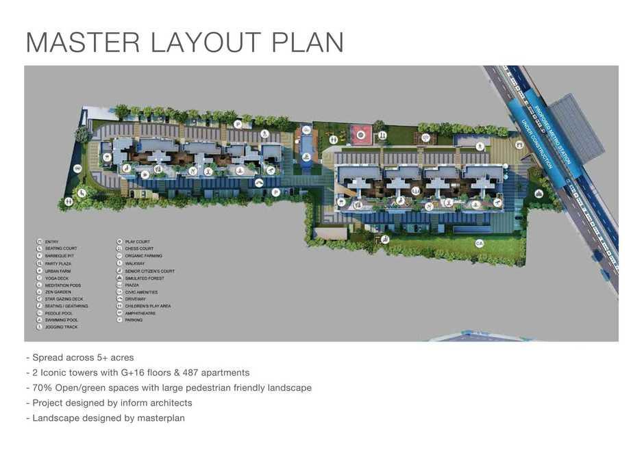Godrej Air Whitefield Master Plan
