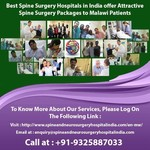 Spine Surgery in India for Malawi Nationals calls Global Patients for the best outcome