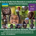 Health Tour to India from Rwanda is a result of Soaring Medical Tourism Industry