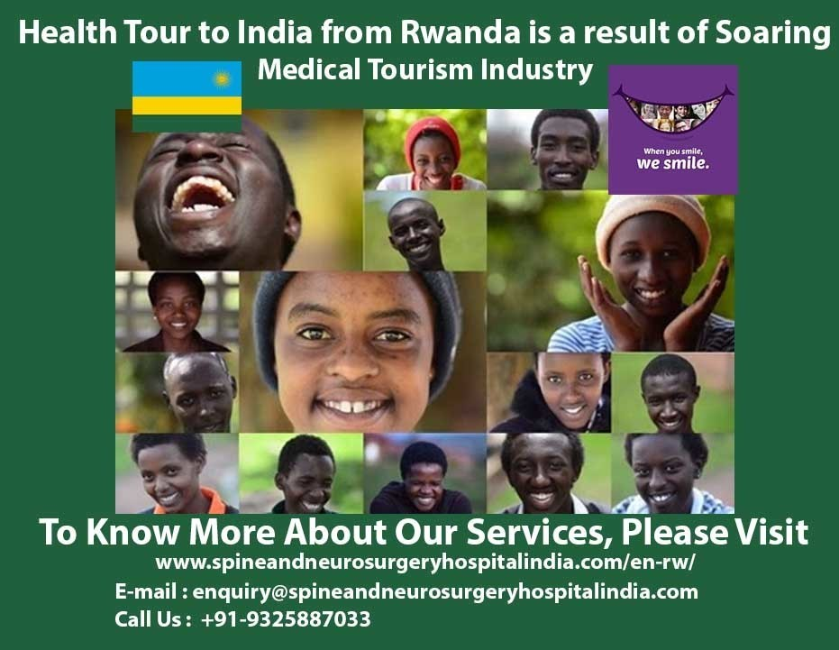 Health Tour to India from Rawanda