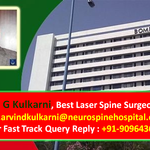 Dr. Arvind Kulkarni Provides Lifetime Pain Relief with Laser Spine Procedures in India