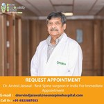 Dr. Arvind Jaiswal Combined Spinal Orthopedic Surgeon Treats His Patients like Family