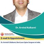 Meet with Famous Laser Spine Surgeon in India Dr. Arvind Kulkarni