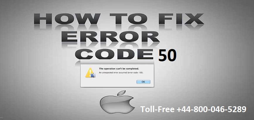 How to Fix Apple MacBook Error Code 50? - Apple Technical Support