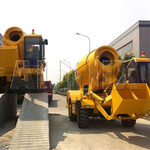 Finding Out How A Self-Loading Concrete Mixer Truck Works