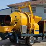An Overview Of The Diesel Concrete Mixer Pump