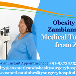 More and more Obesity affected Zambians planning Medical Tour to India from Zambia